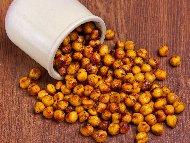 Рецепта Печен нахут с ароматни подправки – лют червен пипер и къри
